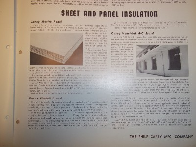 Philip carey mfg co catalog asbestos industrial insulation for Philip carey asbestos