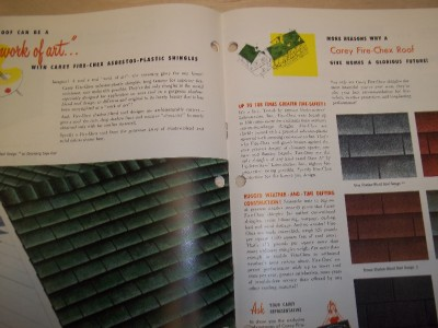 Philip carey catalog asbestos plastic cement shingles fire for Philip carey asbestos