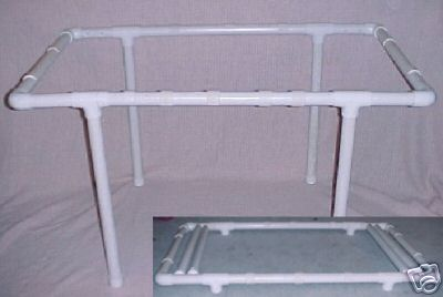 about Quilting Frame (PVC)- Build Your Own Frame - CD, Easy to Build ...