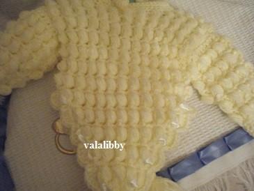 Picot Baby Poncho | Free Crochet Pattern - CrochetN'Crafts