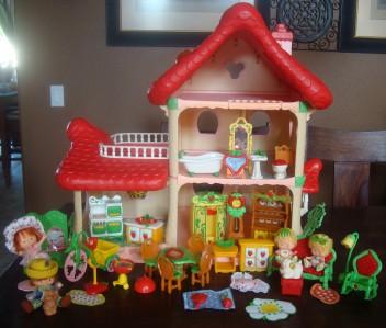 vintage strawberry shortcake house eBay