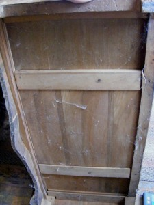 Vintage waterfall bureau storage closet bedroom armoire - Armoire bureau but ...