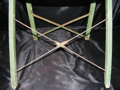 Fort Wayne Furniture Stores on Green Solid Kumfort Folding Chair Louis Rastetter   Sons Fort Wayne In
