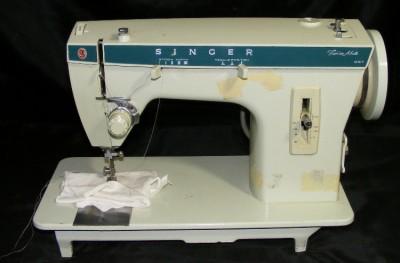 fashion faces sewing machine