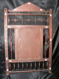 Old Antique Solid Mahogany Wood Decorative Wall Mirror W