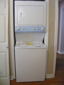 maytag stacked washer dryer manual