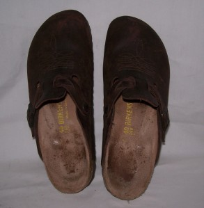 birkenstock women 39 s clogs shoes made in germany size 40 narrow ebay. Black Bedroom Furniture Sets. Home Design Ideas