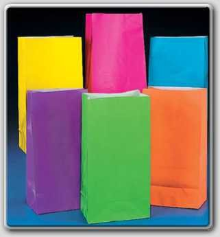 12-Neon-Paper-Party-Bags-Kids-Birthday-Parties-Favours-Decorations