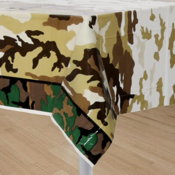 Military camo party army theme party boys party supplies for Army party decoration ideas