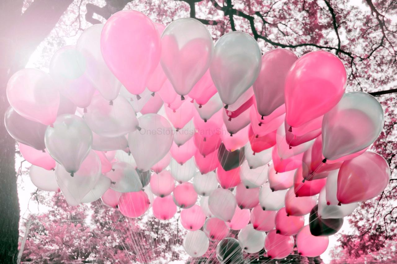 Party Decorations Pink Balloons