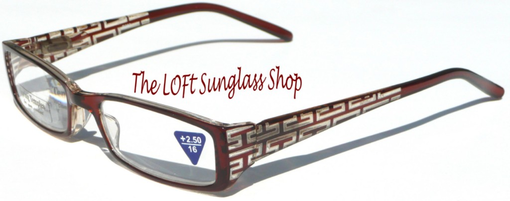 new premium pattern etched reading glasses