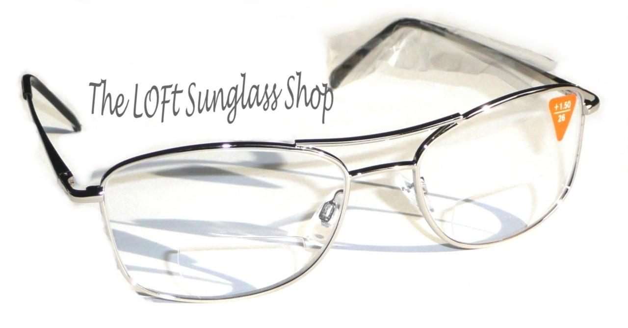 metal framed light bifocal reading glasses high quality