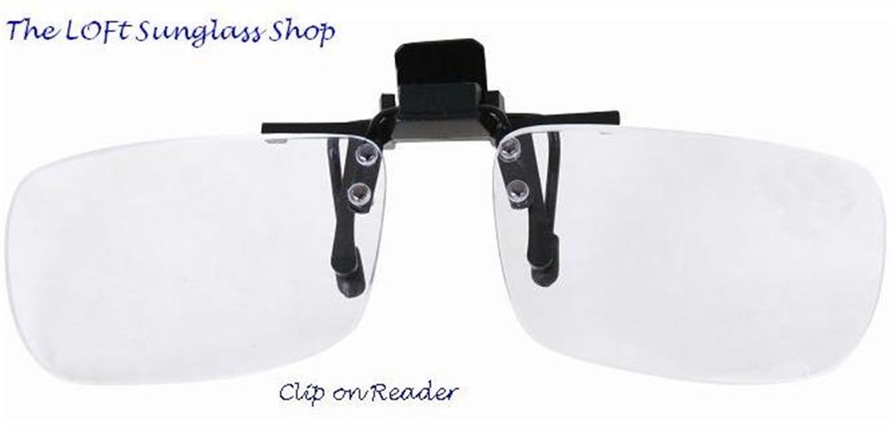 flip up hinged sunglasses clip on reading glasses rcl ebay