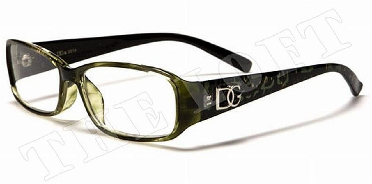 plastic framed optical quality reading glasses dg eyewear