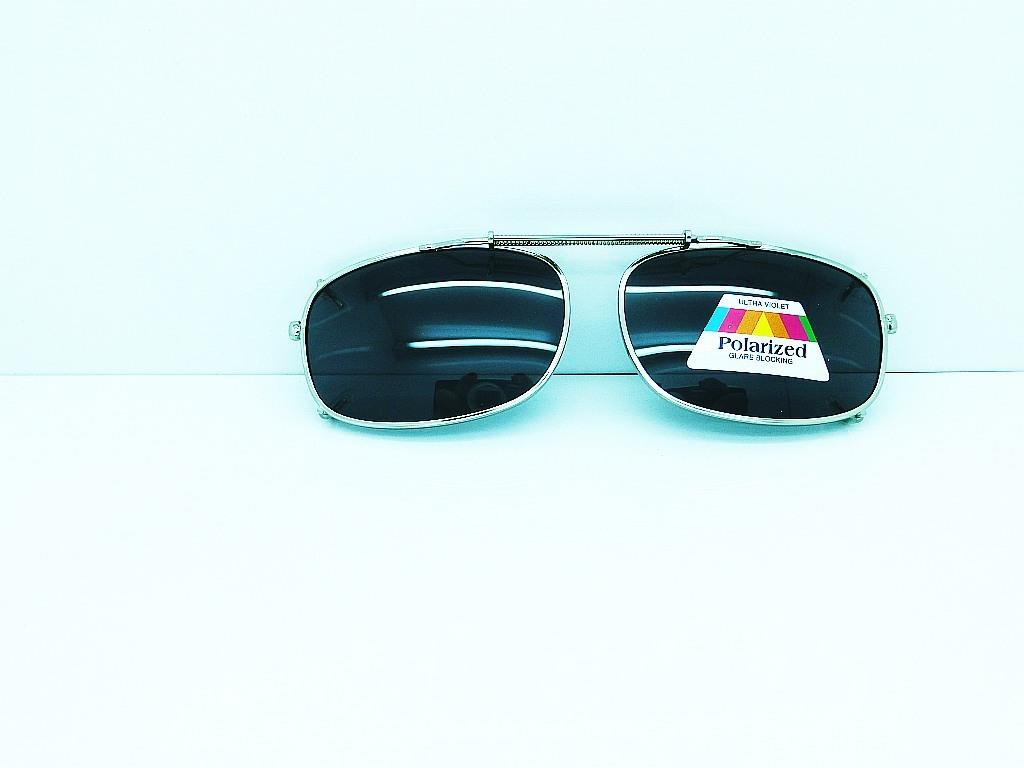 Spring Clip on Driving Sunglasses 3 Frame Colors 2 Lenses ...