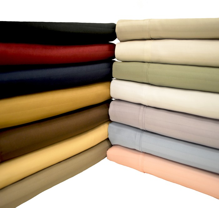 Split King Adjustable Bed Microfiber Striped Sheet Sets Ebay