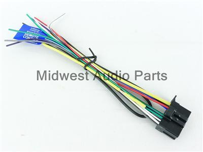 pin harness pioneer deh 2300r 1300r iso wiring lead elsavadorla