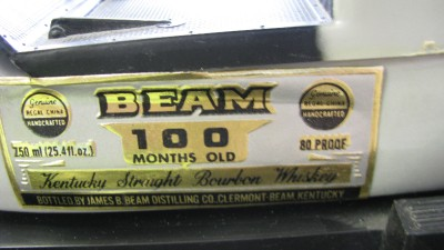 vintage jim beam decanter car 100 month old ebay. Black Bedroom Furniture Sets. Home Design Ideas