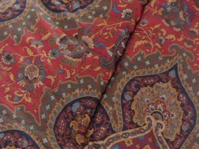 ralph lauren equestrian paisley full queen comforter fall colors