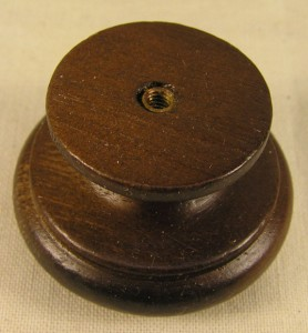 10 Vintage Style Walnut Stained Wood Knobs Handles Cabinet Furniture Hardware 39 Ebay