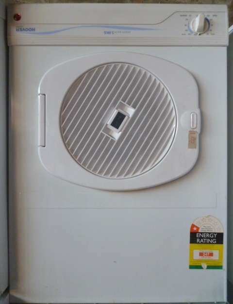 Hoover-Dryer-heavy-duty-5kg-5030D-panel-upsidedown-w-warranty-4QuickSale