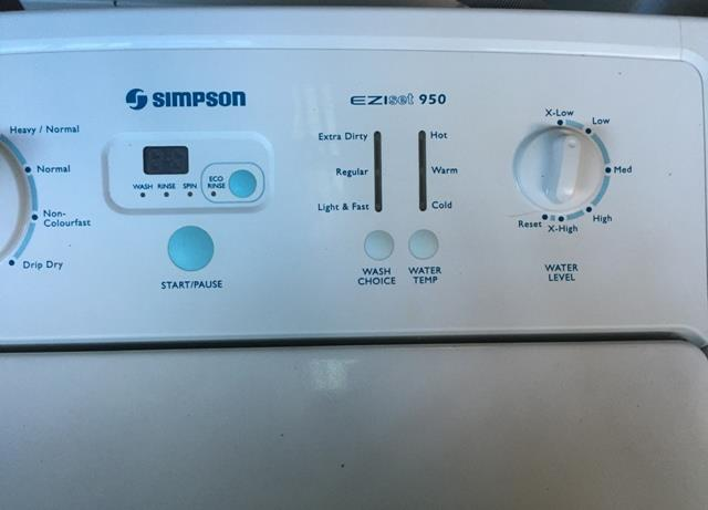 how to use simpson eziset model 71f828wng