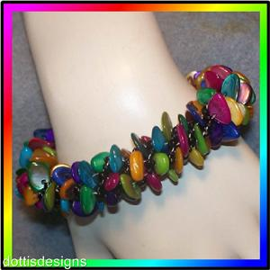 Beaded Bracelets: Sterling Silver and Swarovski Crystal Beaded