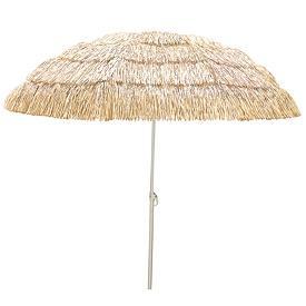 new thatched grass skirt look umbrella yard tiki bar