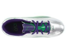 puma evospeed i (silver/green/purple)