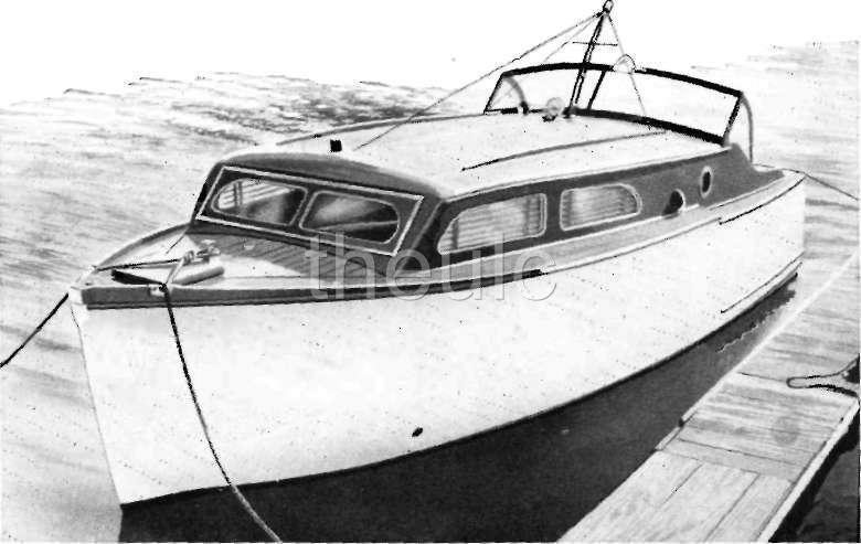 SPORT FISHER - CABIN CRUISER - BOAT PLANS HOW TO WOOD | eBay