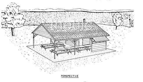 Picnic shelter building plans find house plans Shelter house plans