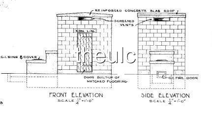 concrete block outdoor fireplace plans | Olber Outdoor Fireplace