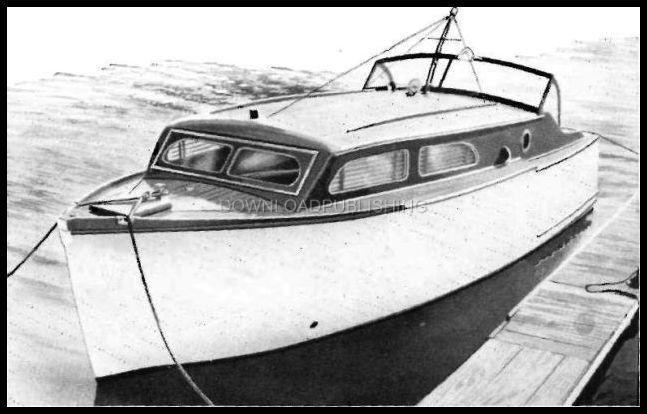 Sport Fisher Cabin Cruiser Boat Plans How To Wood
