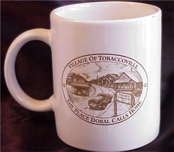 Doral Village OF Tobaccoville MUG | eBaytobaccoville village