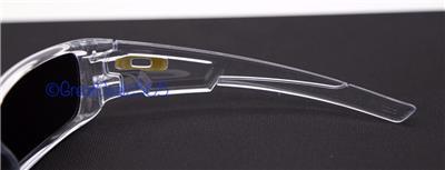 clear frame oakley sunglasses  oakley crankshaft