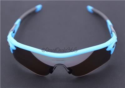 blue oakley radar sunglasses  new oakley
