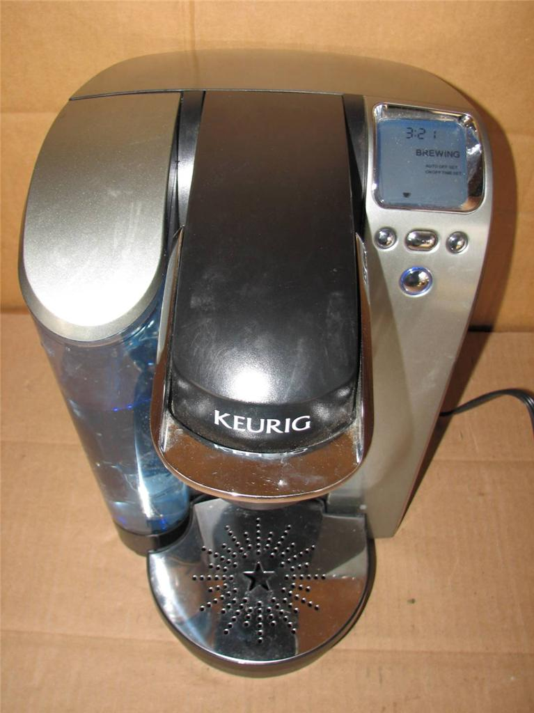 KEURIG SINGLE CUP BREWING SYSTEM COFFEE MAKER MODEL B70 eBay