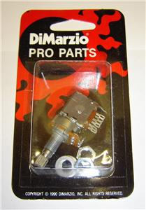 Dimarzio 250k PUSH PULL POT fits Fender Strat, Tele and Single ...