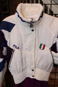 vintage fila ski suit