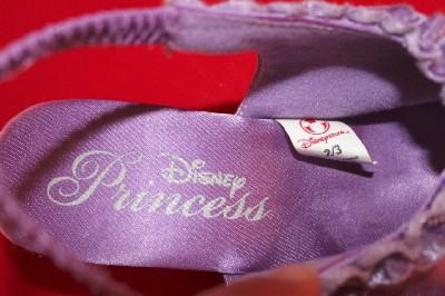 DISNEY PRINCESS SLIPPERS belle aurora cinderella 2/3