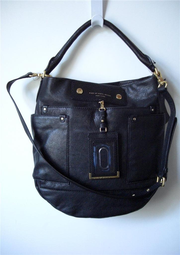 Hillier Hobo Leather Shoulder Bag 21