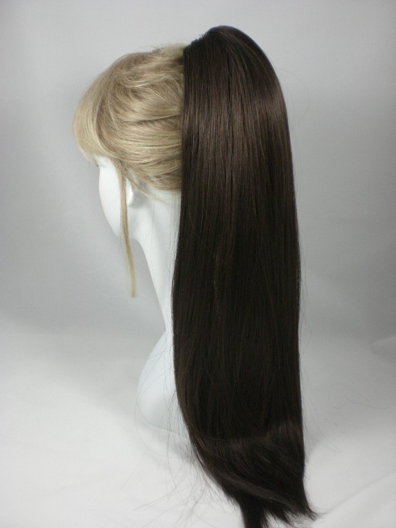 Long-Straight-Claw-Clip-On-Ponytail-Hairpiece-in-Black-Brown-Auburn-Cheerleading
