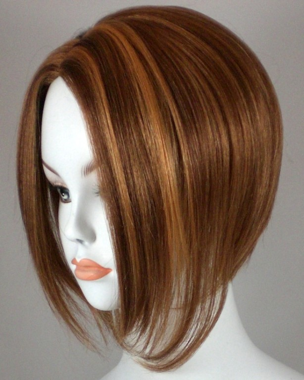 how to cut hair extensions into a bob