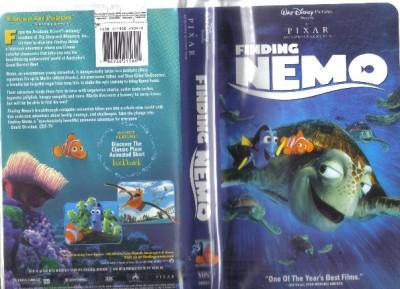 VHS: DISNEY'S FINDING NEMO....VOICE OF ELLEN DEGENERES# | eBay
