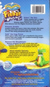 Details about vhs rubbadubbers finbar the mighty movie star