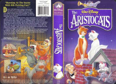 VHS: WALT DISNEY'S MASTERPIECE THE ARISTOCATS# | eBay