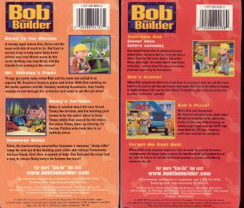Details about VHS: LOT OF 2 BOB THE BUILDER BOB & ROLEY'S FAVORITE Bob The Builder Can We Fix It Dvd