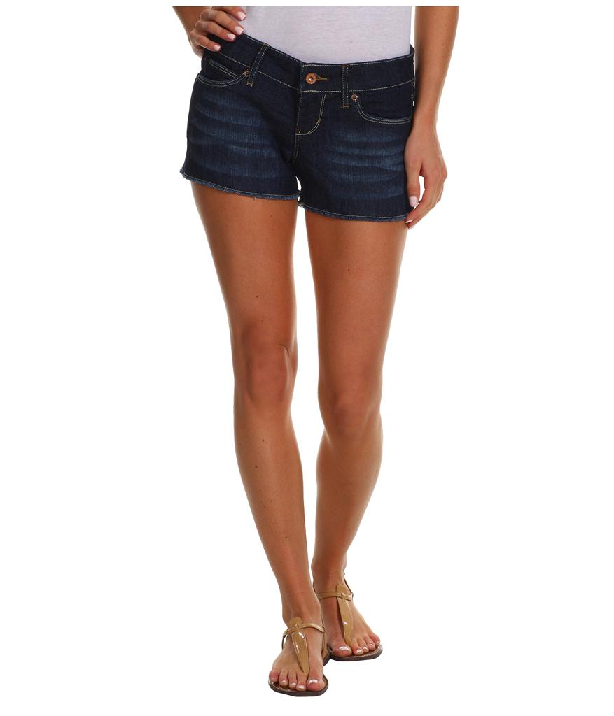 Levi S Lucy Raw Edge Too Short Jean Shorts 38 Nwt