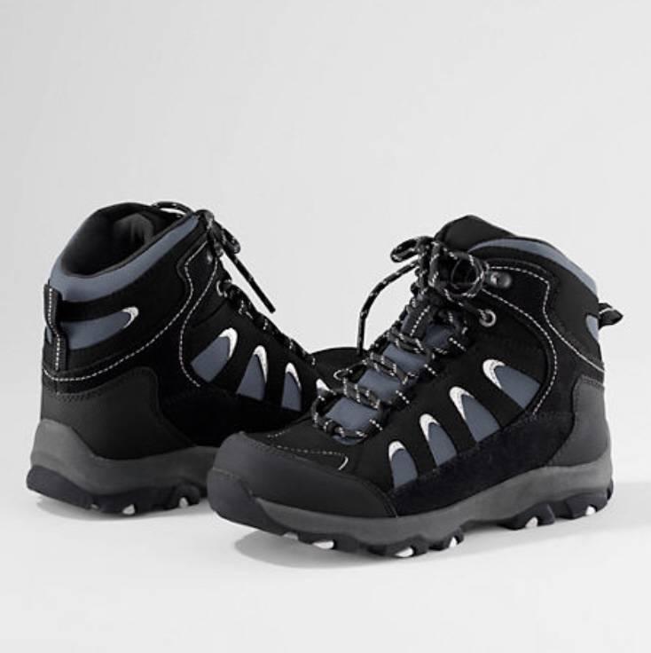 lands end snow trekker waterproof boots s nib 70
