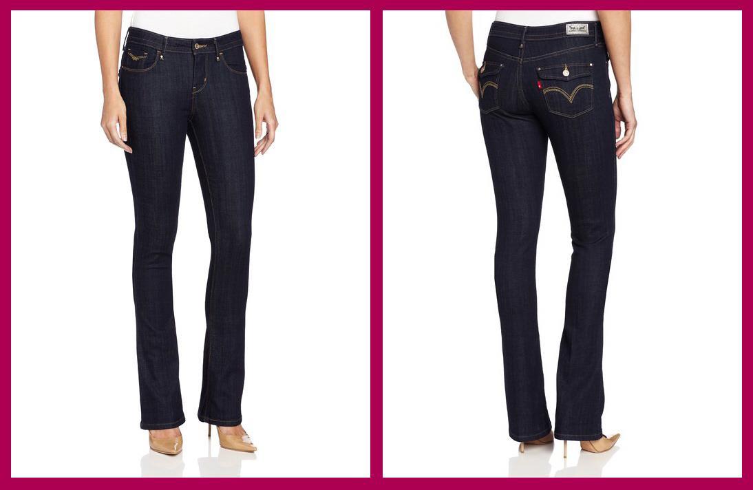 Levi's Mid Rise Skinny Bootcut Women's Jeans $54 | eBay
